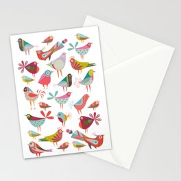 Dancing Birds Stationery Cards
