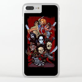 Horror Guice Clear iPhone Case