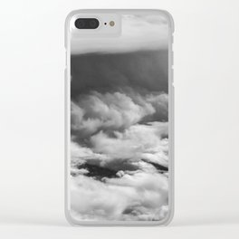 Wave of Clouds Clear iPhone Case