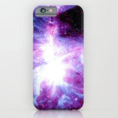 Orion Nebula Purple Periwinkle Blue Galaxy Slim Case iPhone 6s