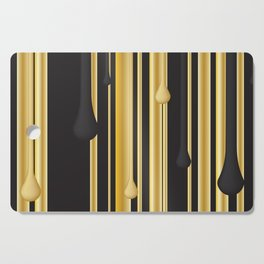 DRIPPING IN GOLD Cutting Board