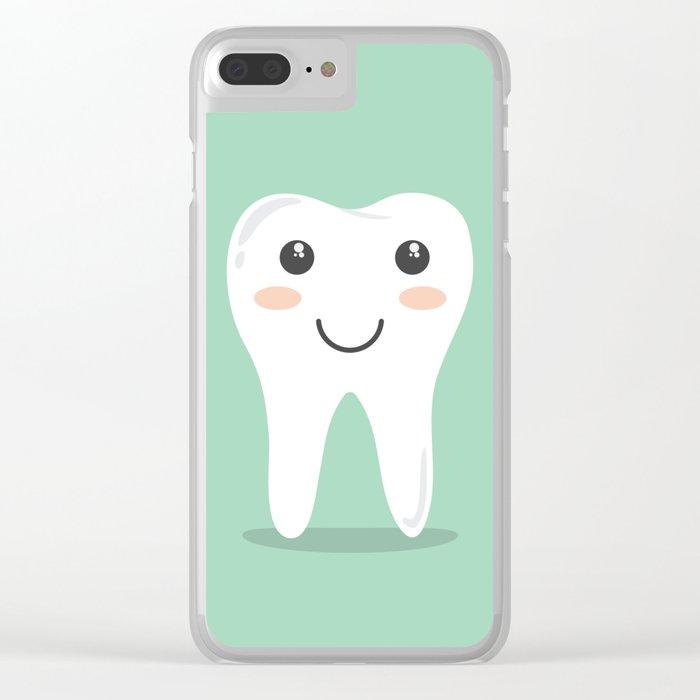 Cute Teeth Clear iPhone Case