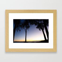 Isla Del Sol Sunset 2 Framed Art Print