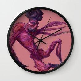 friendly monster Wall Clock