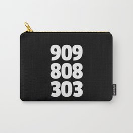 909/808/303 Dance Music Quote Carry-All Pouch