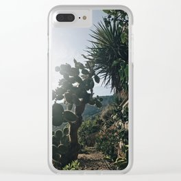 Turquise days Clear iPhone Case