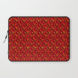 Muster Herzen 1 - Pattern Hearts 1 Laptop Sleeve