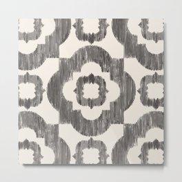 Geo Tile Metal Print