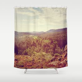 The Bigger Picture Shower Curtain