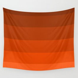 Pumpkin Spice in the Fall - Color Therapy Wall Tapestry