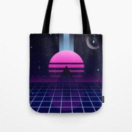 Neon Twilight Tote Bag