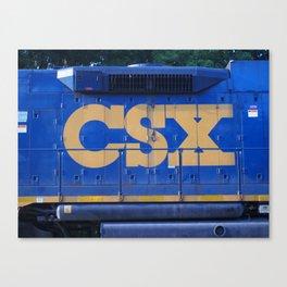 CSX Canvas Print