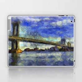Manhattan Bridge New York Art Laptop & iPad Skin