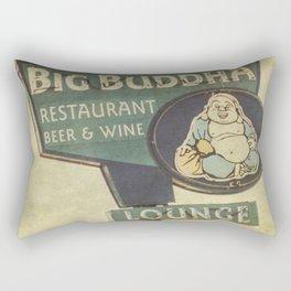 Big Buddha Rectangular Pillow