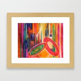 Vivid Abstract Framed Art Print