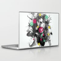 code Laptop & iPad Skins featuring Code W by Sitchko
