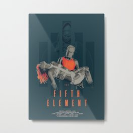 The fifth element Metal Print