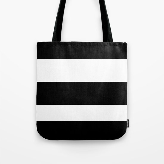 thick stripes Tote Bag