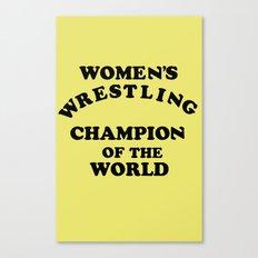 Inter-Gender Champion Canvas Print