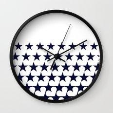 Love Among Stars Wall Clock