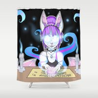 occult Shower Curtains featuring Occult by JekyllDraws