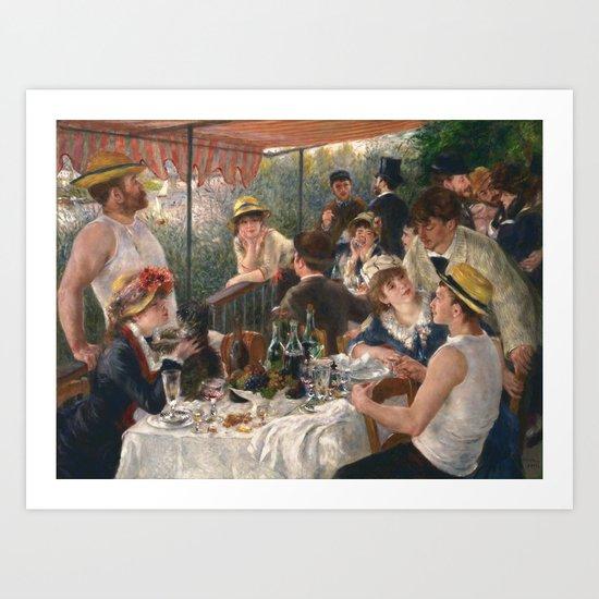 Auguste Renoir - Luncheon of the Boating Party (Le déjeuner des canotiers) by constantchaos