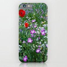 Wild Flower Meadow Slim Case iPhone 6s