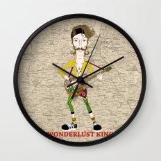 Gogol Bordello Eugene Hütz Gypsy Punk Wall Clock