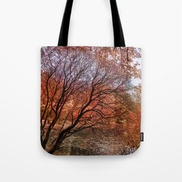 Mad colors of Autumn Tote Bag