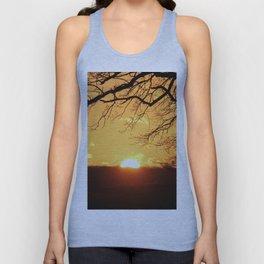 Sunset Tree! Unisex Tank Top