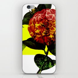 Vintage Bloom /Neon Block iPhone Skin
