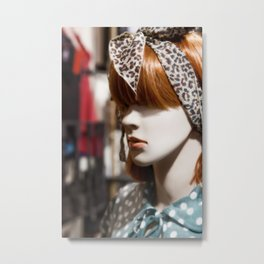 Mannequin 5a Metal Print