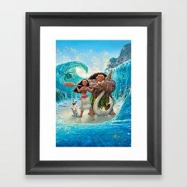 Moana 2 Framed Art Print