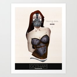 Gotham Masquerade IV Art Print
