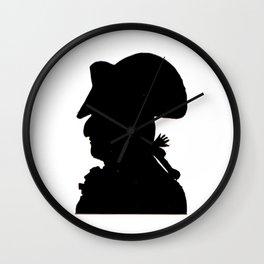 Pirate silhouette Wall Clock