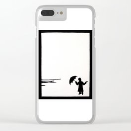 Is It? Clear iPhone Case