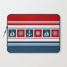 Nautical symbols Laptop Sleeve