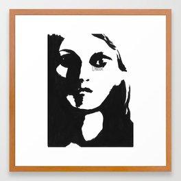 Instants d'amour Framed Art Print