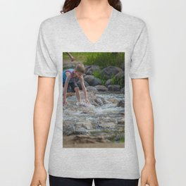 Mississippi Headwaters Fun Unisex V-Neck