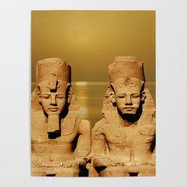 Ramesses and Nefertari Poster