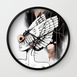 Bird of Minerva Wall Clock