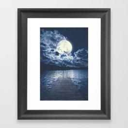 Bottomless dreams Framed Art Print