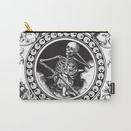 1861 Death Skeleton Black Carry-All Pouch