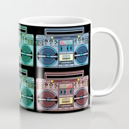 """I CAN'T LIVE WITHOUT MY RADIO"" Coffee Mug"