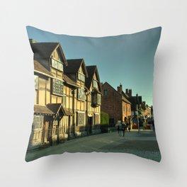 Shaky's House Throw Pillow