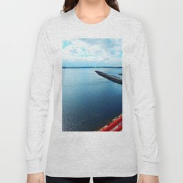 Souris PEI Lighthouse View Long Sleeve T-shirt