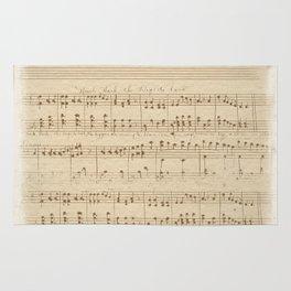 The Music Vintage Rug