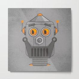Love my robot Metal Print