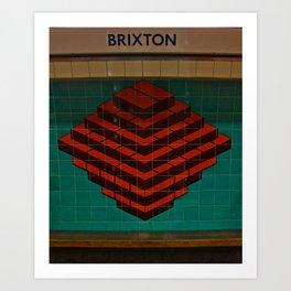 Brixton. Art Print