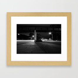 The Middle Of Two Ways Framed Art Print